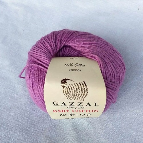 Gazzal Baby Cotton 3414