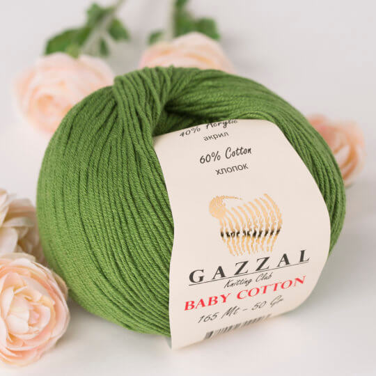 Gazzal Baby Cotton 3449