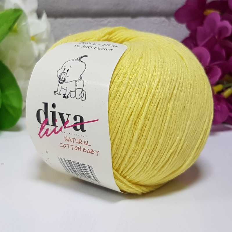 Příze Diva Natural Cotton Baby 215