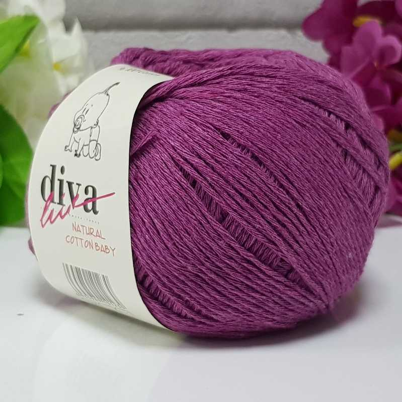 Příze Diva Natural Cotton Baby 060