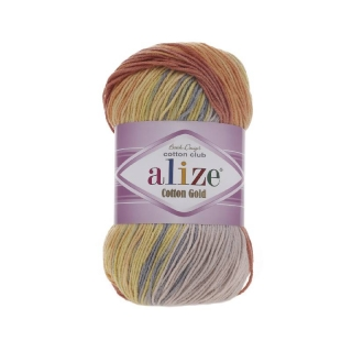 Příze Alize Cotton Gold Batik 5508