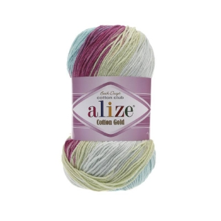 Příze Alize Cotton Gold Batik 6519