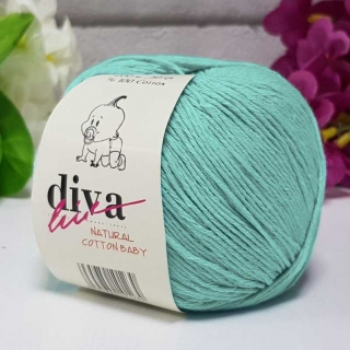 Příze Diva Natural Cotton Baby 2119