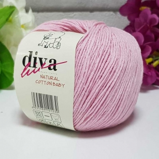 Příze Diva Natural Cotton Baby 2130