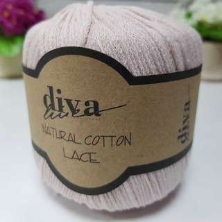Příze Diva Natural Cotton Lace 1003