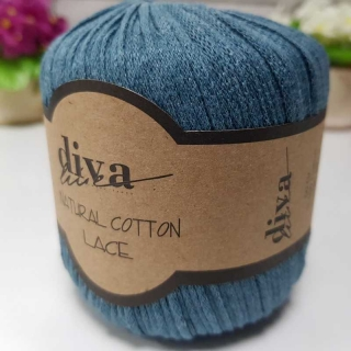 Příze Diva Natural Cotton Lace 10328