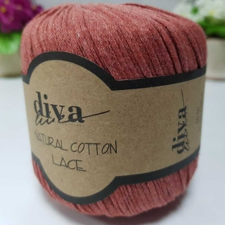 Příze Diva Natural Cotton Lace 1964