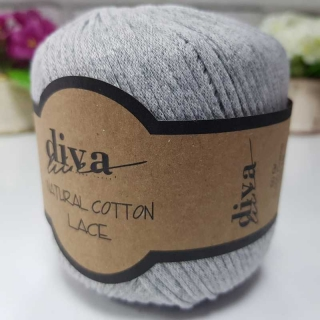 Příze Diva Natural Cotton Lace 2107