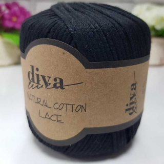 Příze Diva Natural Cotton Lace 2111