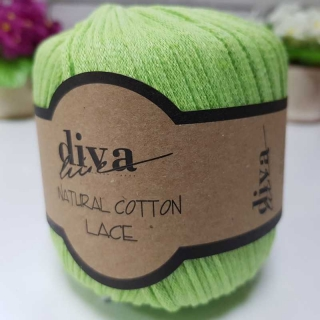 Příze Diva Natural Cotton Lace 2120