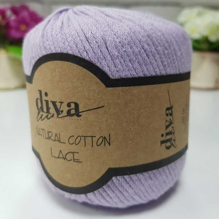 Příze Diva Natural Cotton Lace 2135