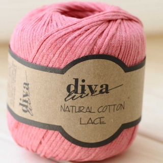 Příze Diva Natural Cotton Lace 2136