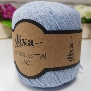 Příze Diva Natural Cotton Lace 214