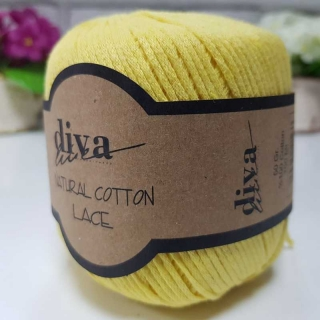 Příze Diva Natural Cotton Lace 215