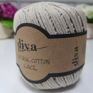 Příze Diva Natural Cotton Lace 2305