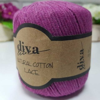Příze Diva Natural Cotton Lace 060
