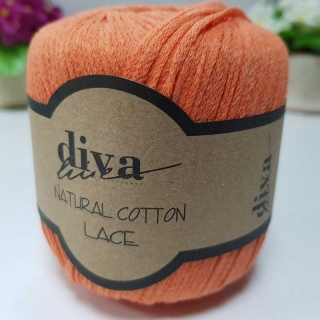 Příze Diva Natural Cotton Lace 979