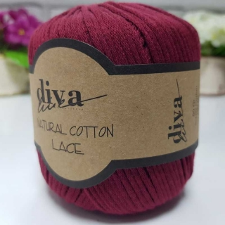 Příze Diva Natural Cotton Lace 999
